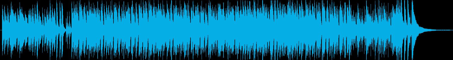 Jazzyなイージーリスンニング系の再生済みの波形