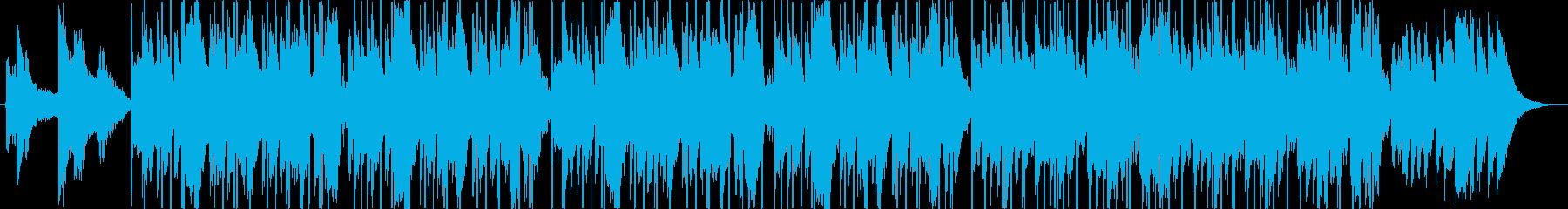 メロウなヒップホップ CM向けの再生済みの波形