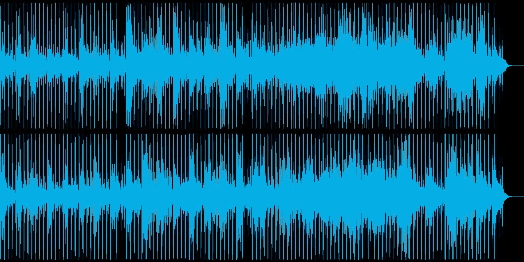 ゲーム、不規則ピアノメロディ、フルverの再生済みの波形