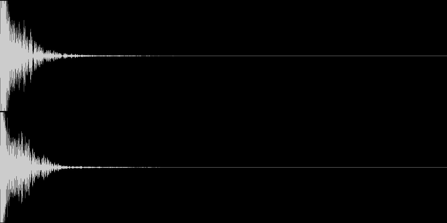 KAKUGE 格闘ゲーム戦闘音 48の未再生の波形