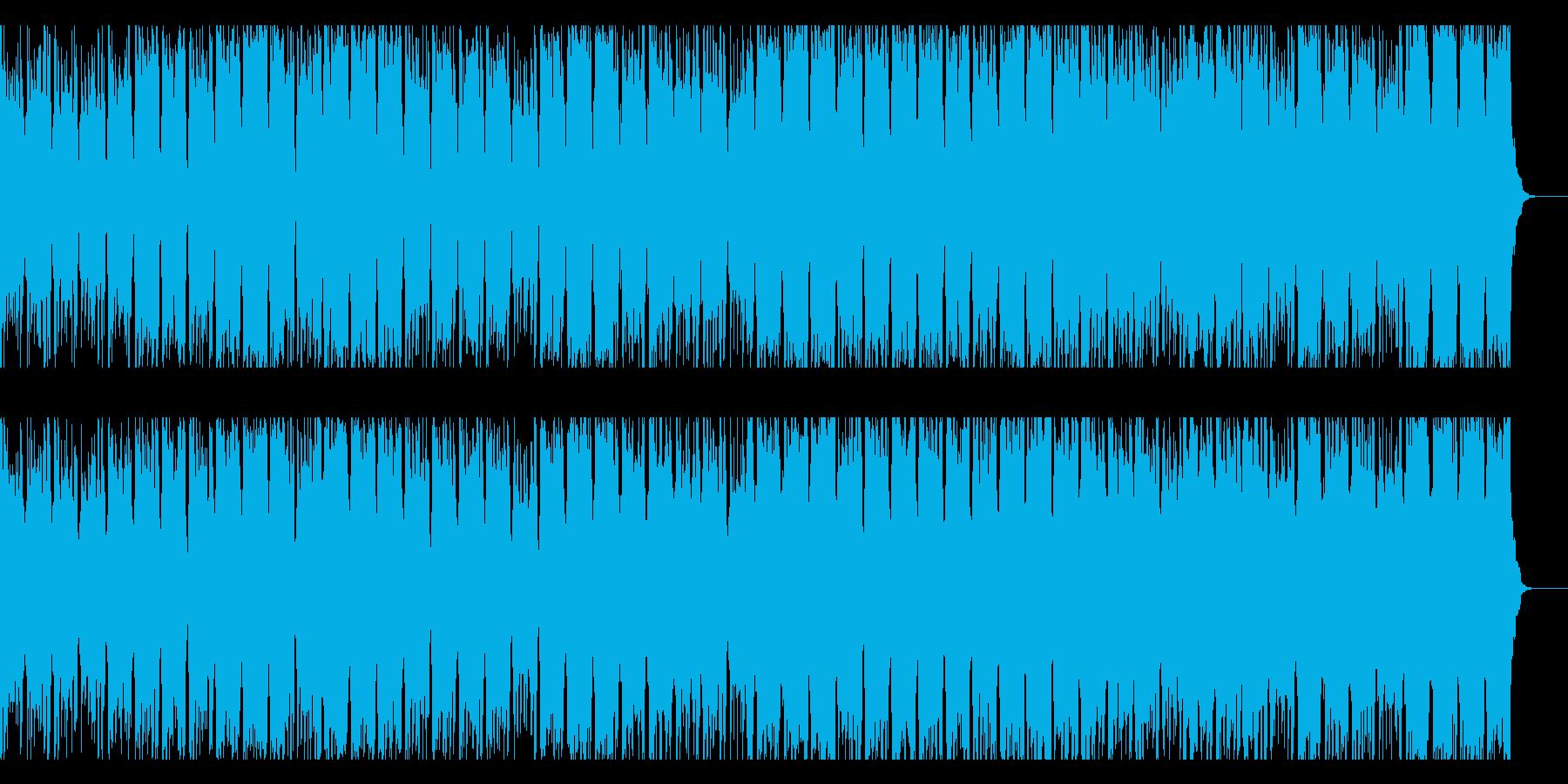 ゆったりと時の流れるイメージの再生済みの波形