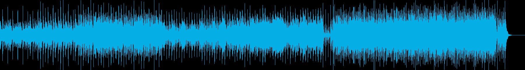可愛らしいポップスの再生済みの波形