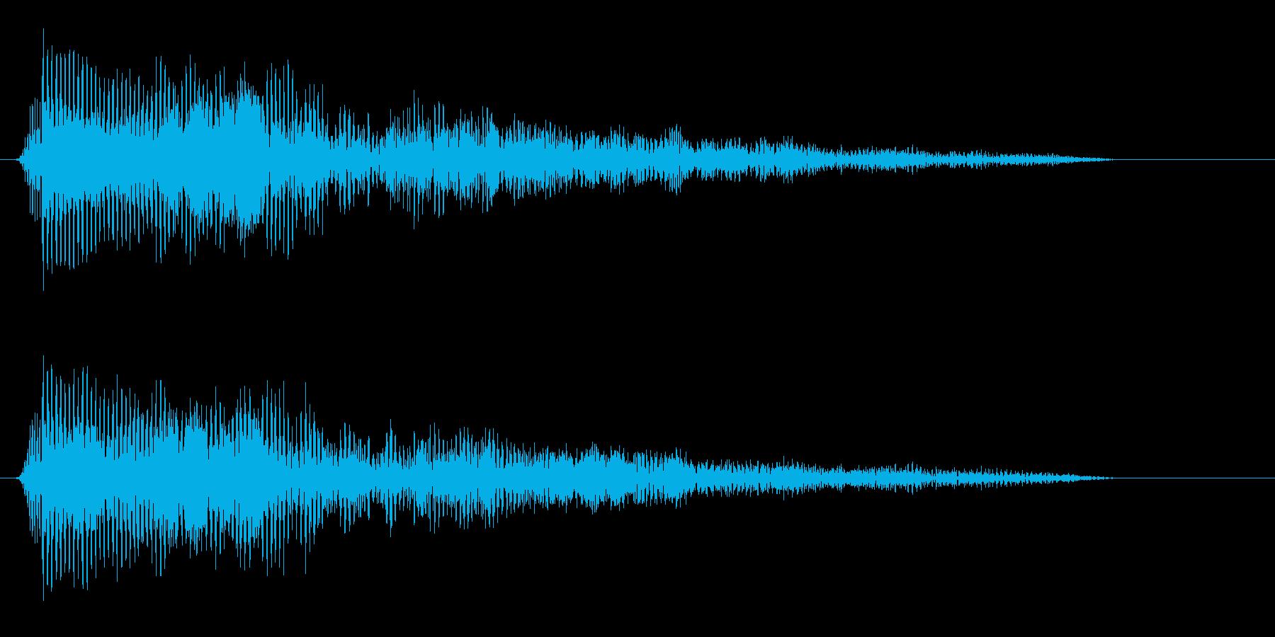 パァッ(キレのいいクラクションの音)の再生済みの波形