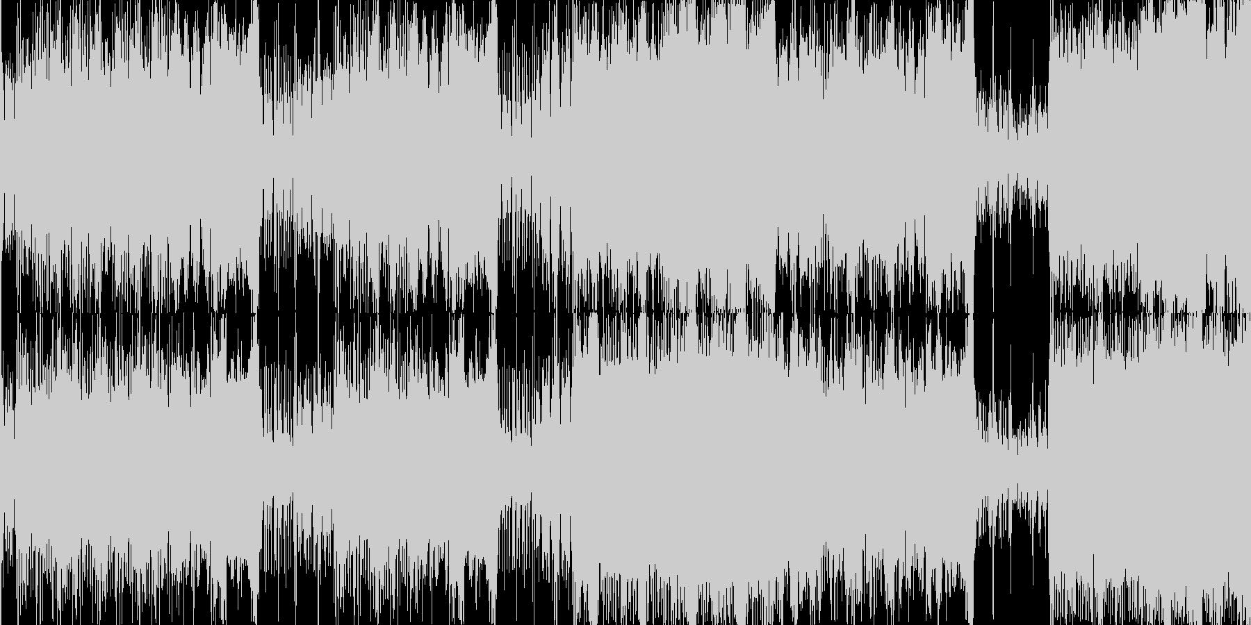 OP行進フルオーケストラの未再生の波形