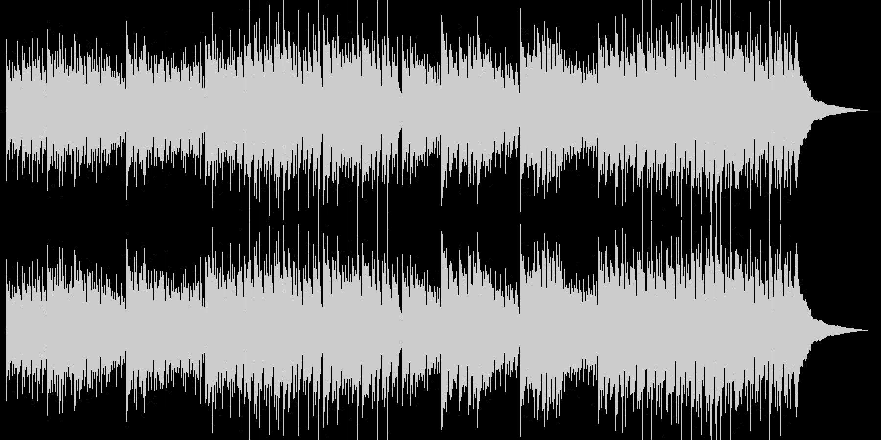 アコースティックギター 雨の街1 独奏の未再生の波形