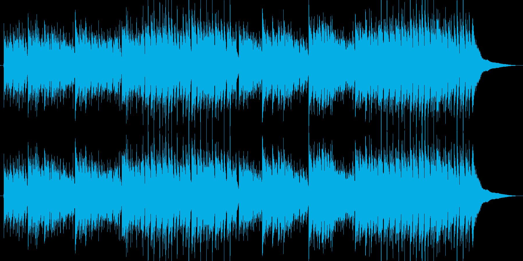 アコースティックギター 雨の街1 独奏の再生済みの波形