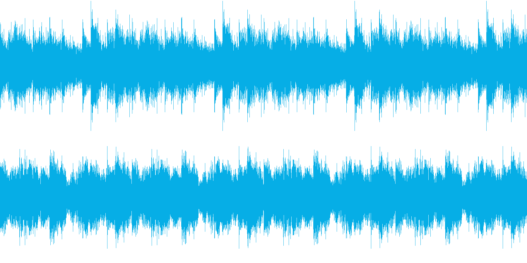 House コードシンセ 6 音楽制作用の再生済みの波形