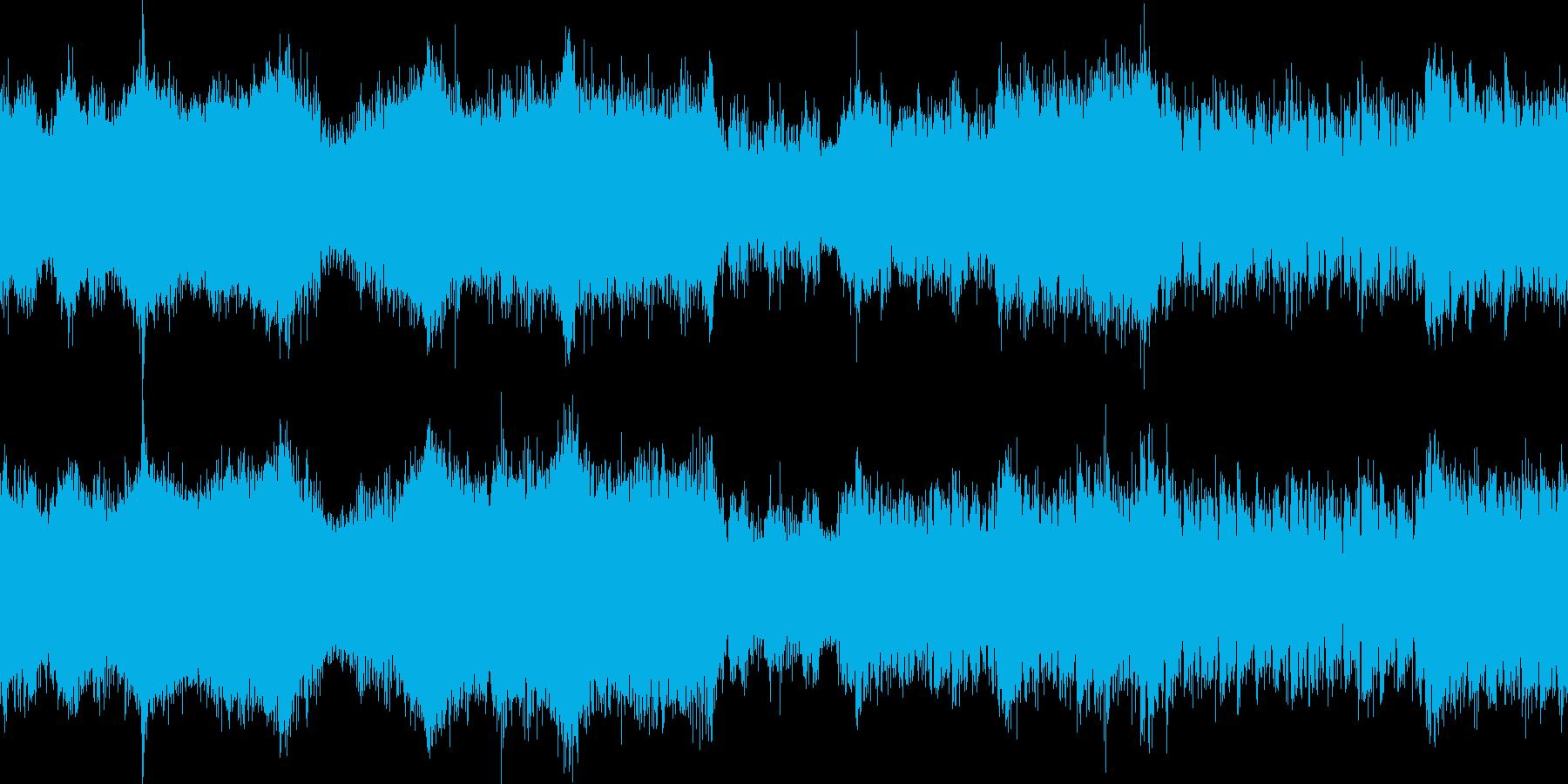 シンプルで潜入感あるトランスの再生済みの波形