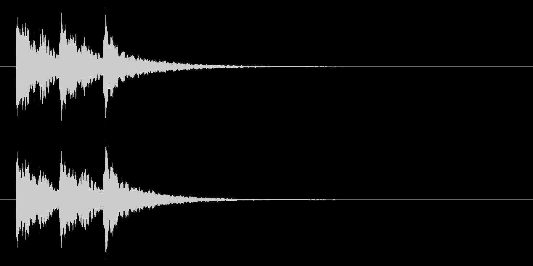 キラキラ系アイキャッチ2の未再生の波形