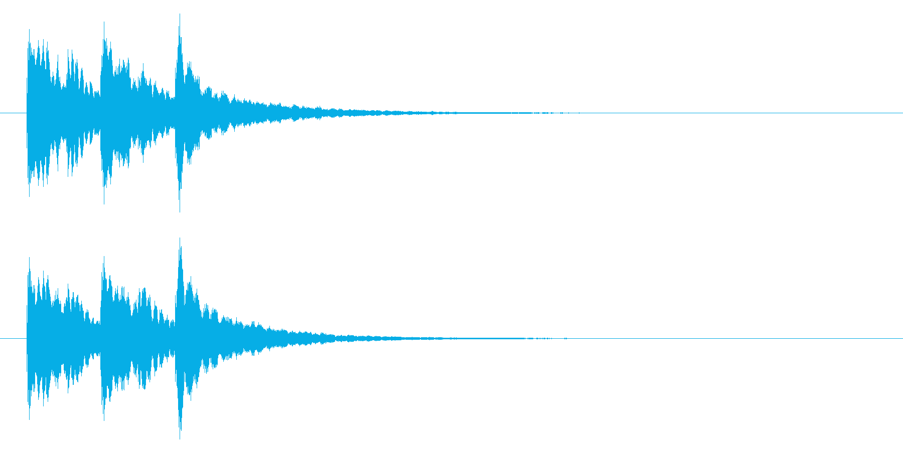 キラキラ系アイキャッチ2の再生済みの波形