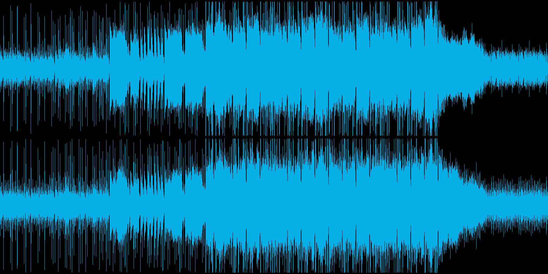 素朴で可愛らしいくも壮大なインストループの再生済みの波形