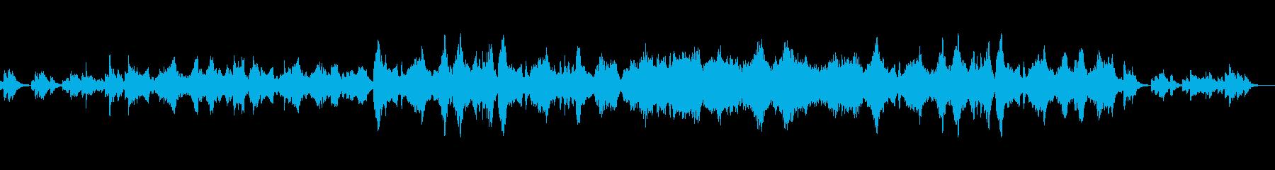 ほのぼのした日常系アニメをイメージした曲の再生済みの波形