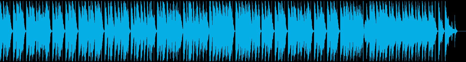 ワーグナー結婚行進曲ウクレレ スネア抜きの再生済みの波形