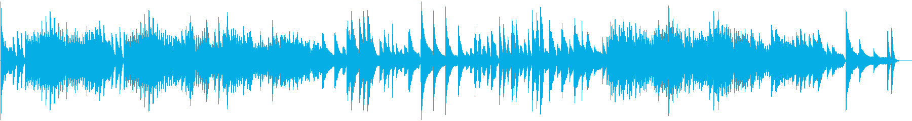 クリスマスを意識した、短いピアノ曲です♪の再生済みの波形