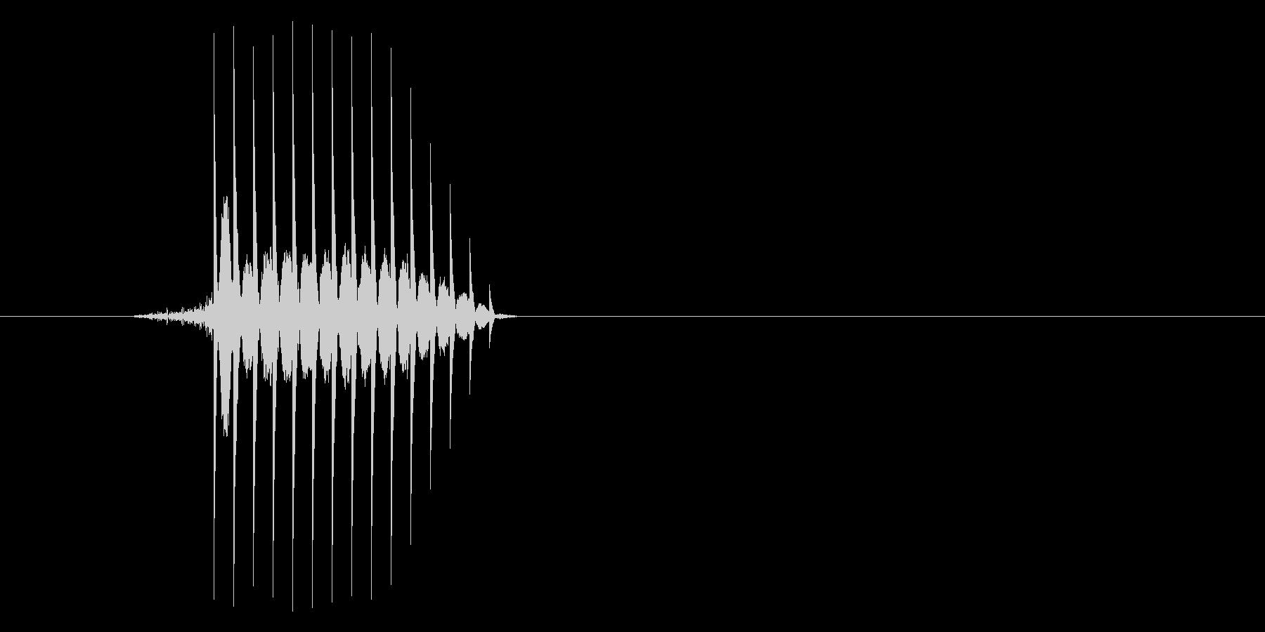 ゲーム(ファミコン風)セレクト音_025の未再生の波形