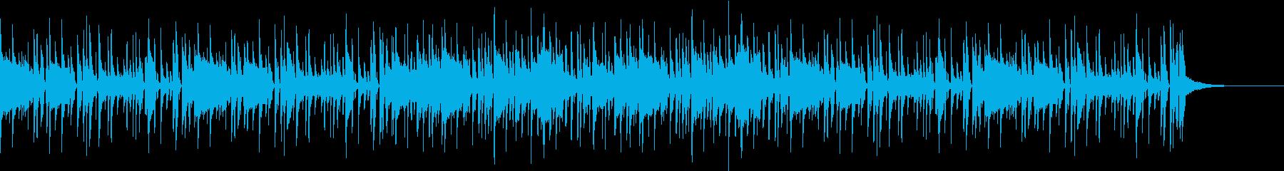 エレピとウッドベースのお洒落ファンクの再生済みの波形