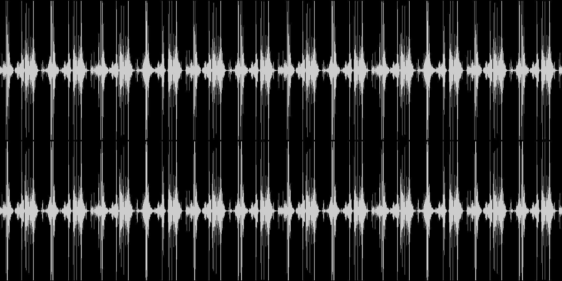 ファンタジー作品向けヘンテコ機械稼働音の未再生の波形