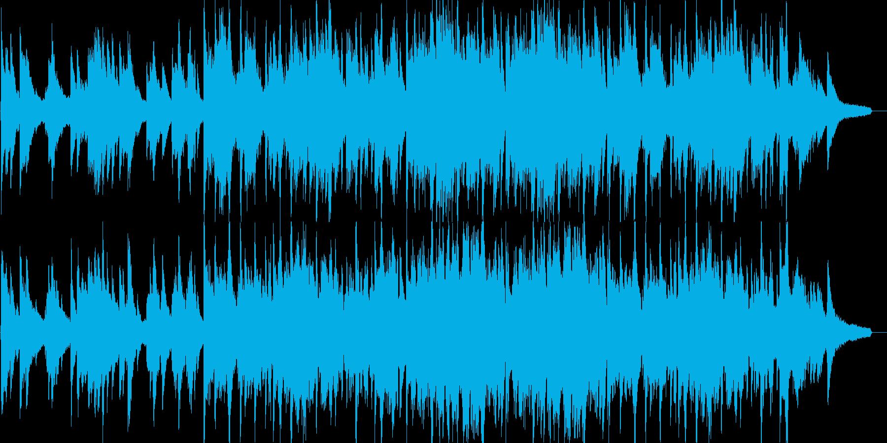 おしゃれ・リラックス・イベント・映像の再生済みの波形