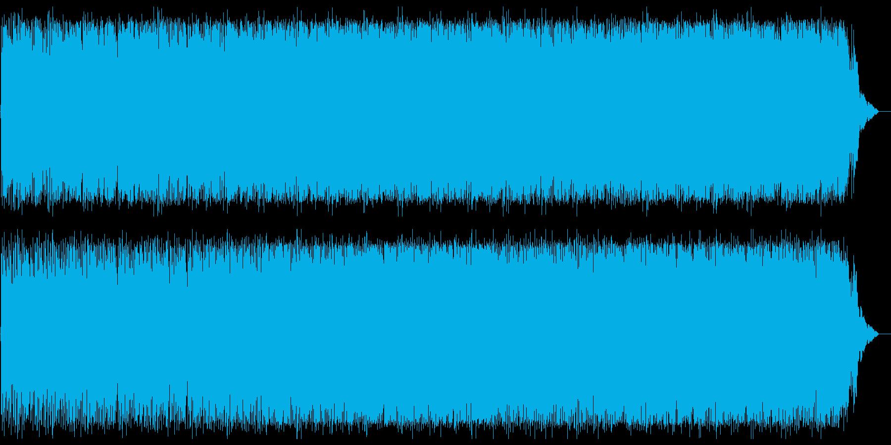 メローでスピーディーなテクノポップの再生済みの波形