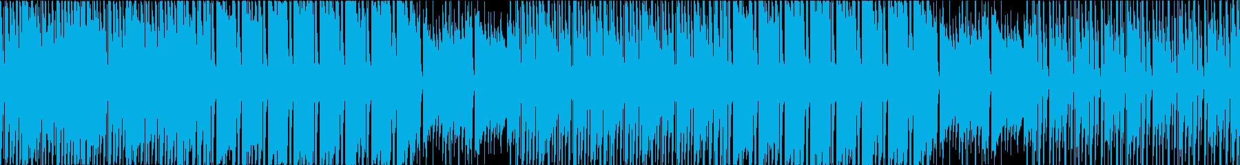 気だるい雰囲気のヒップホップループの再生済みの波形