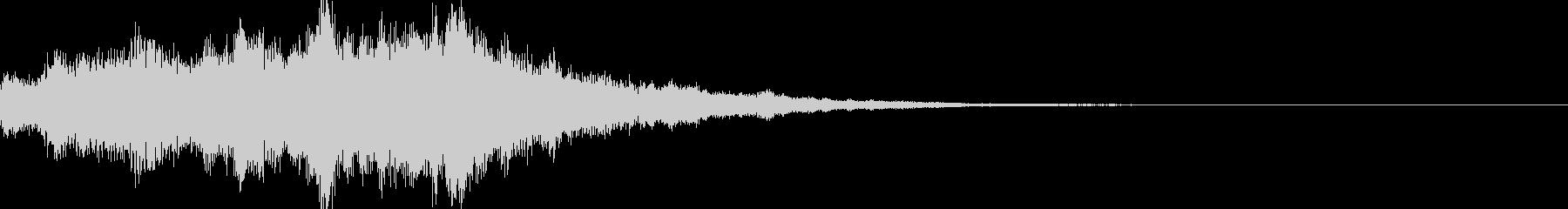 サウンドロゴ38_シンセDUの未再生の波形