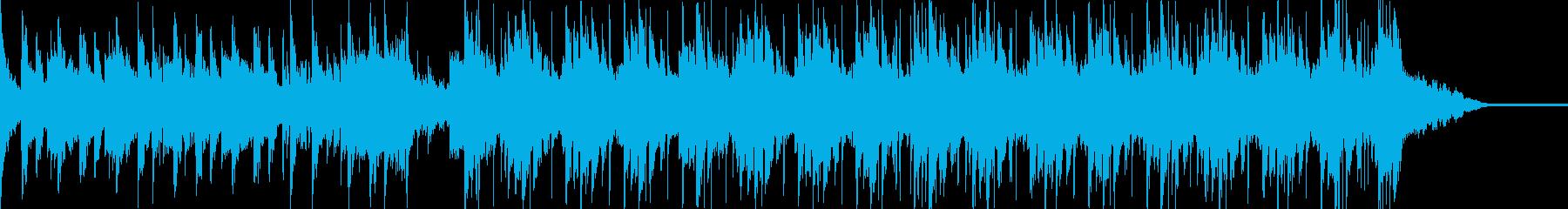 機械の沢山ある中で、主に機械がパーティ…の再生済みの波形