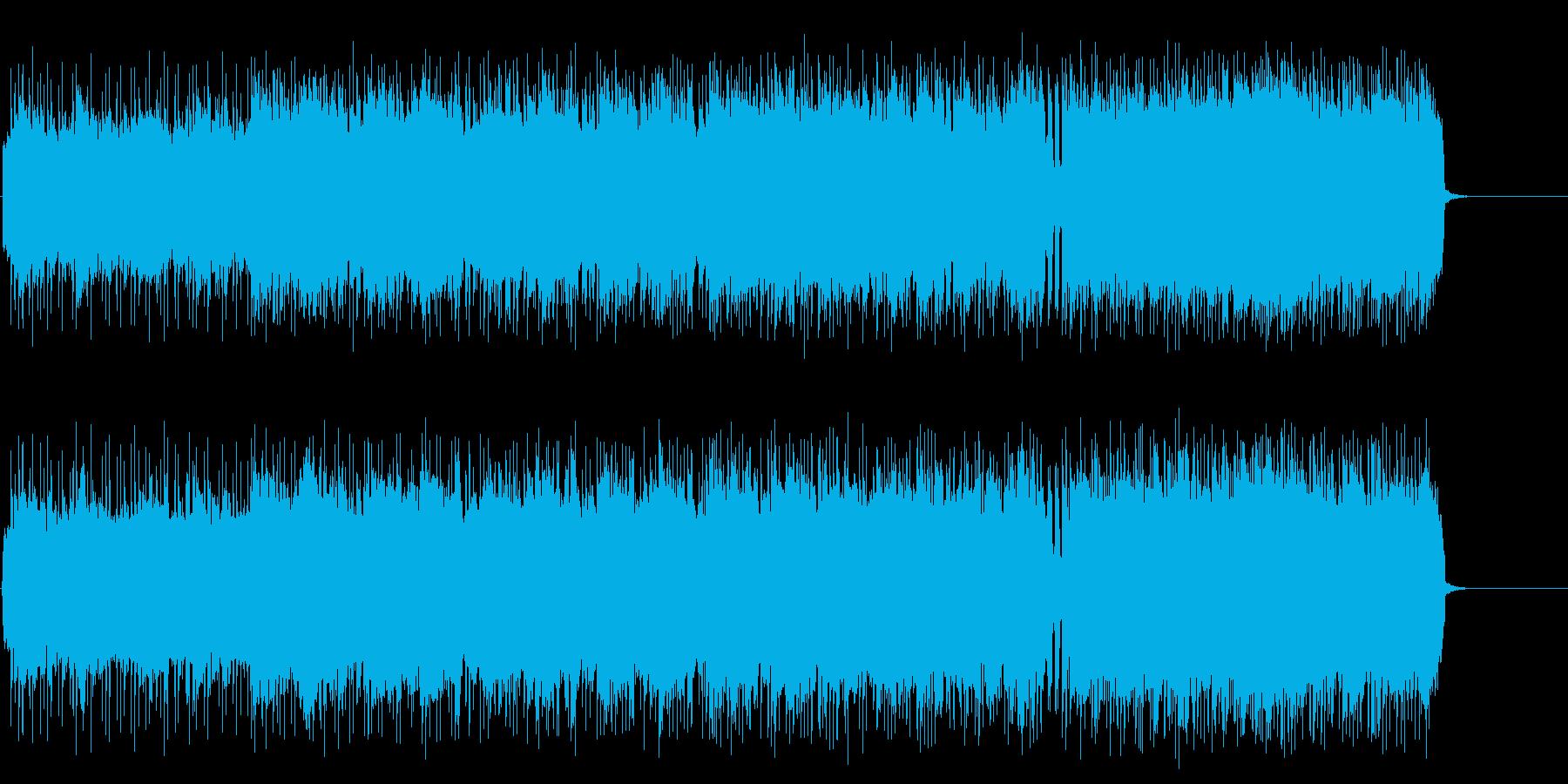 疾走感のあるアメリカン・ハード・ロックの再生済みの波形