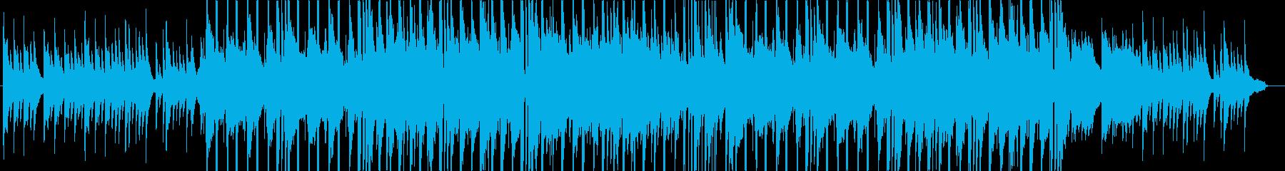 冬によく合うほのぼのしたBGMの再生済みの波形