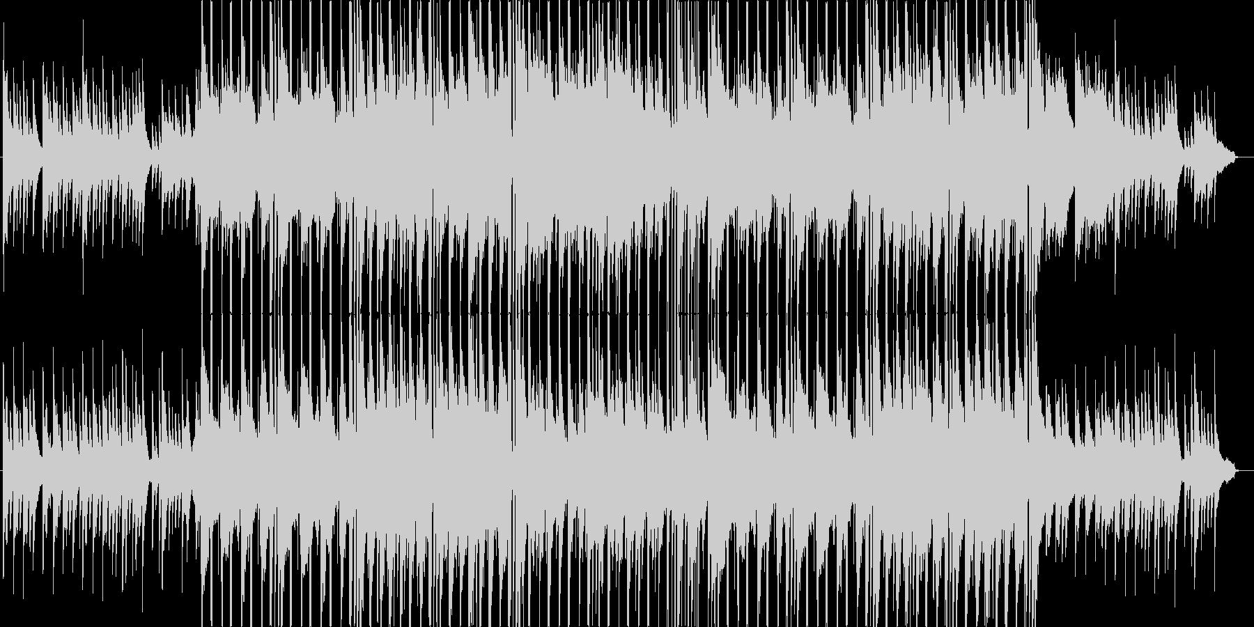 冬によく合うほのぼのしたBGMの未再生の波形