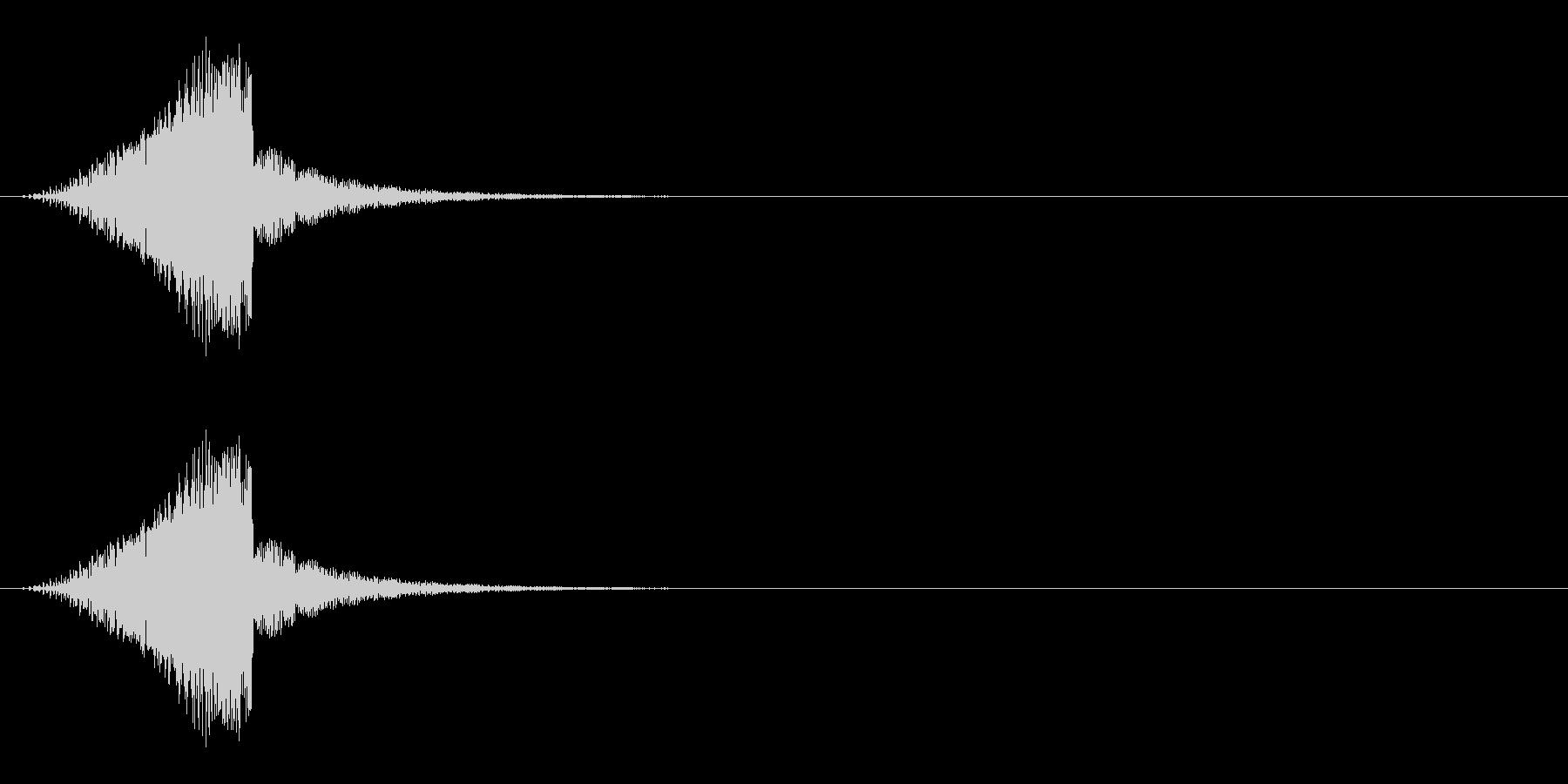 シューィッ↑(ワープ、ステージ移動)の未再生の波形