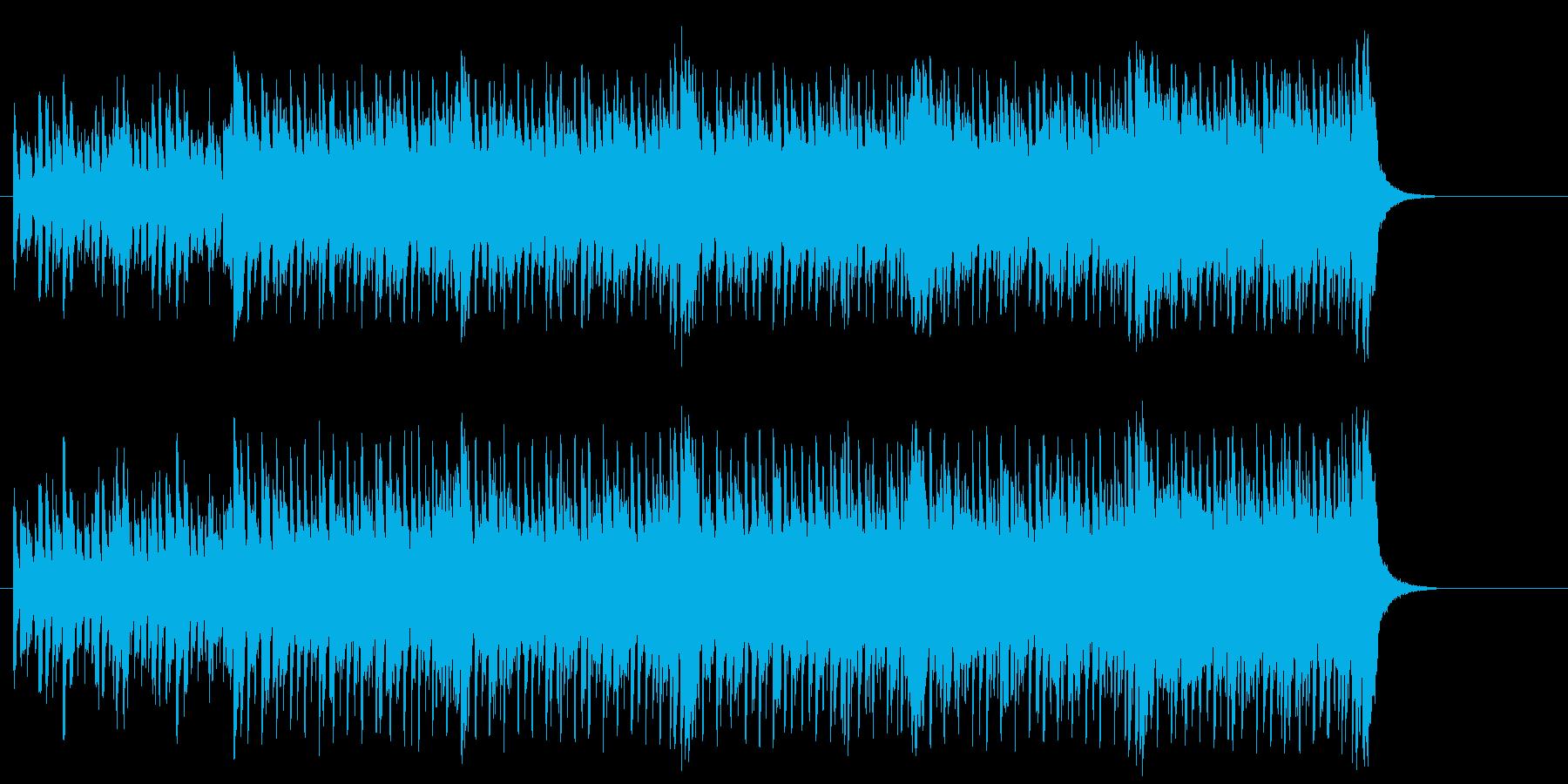 ファンタジックなテクノ/ポップの再生済みの波形