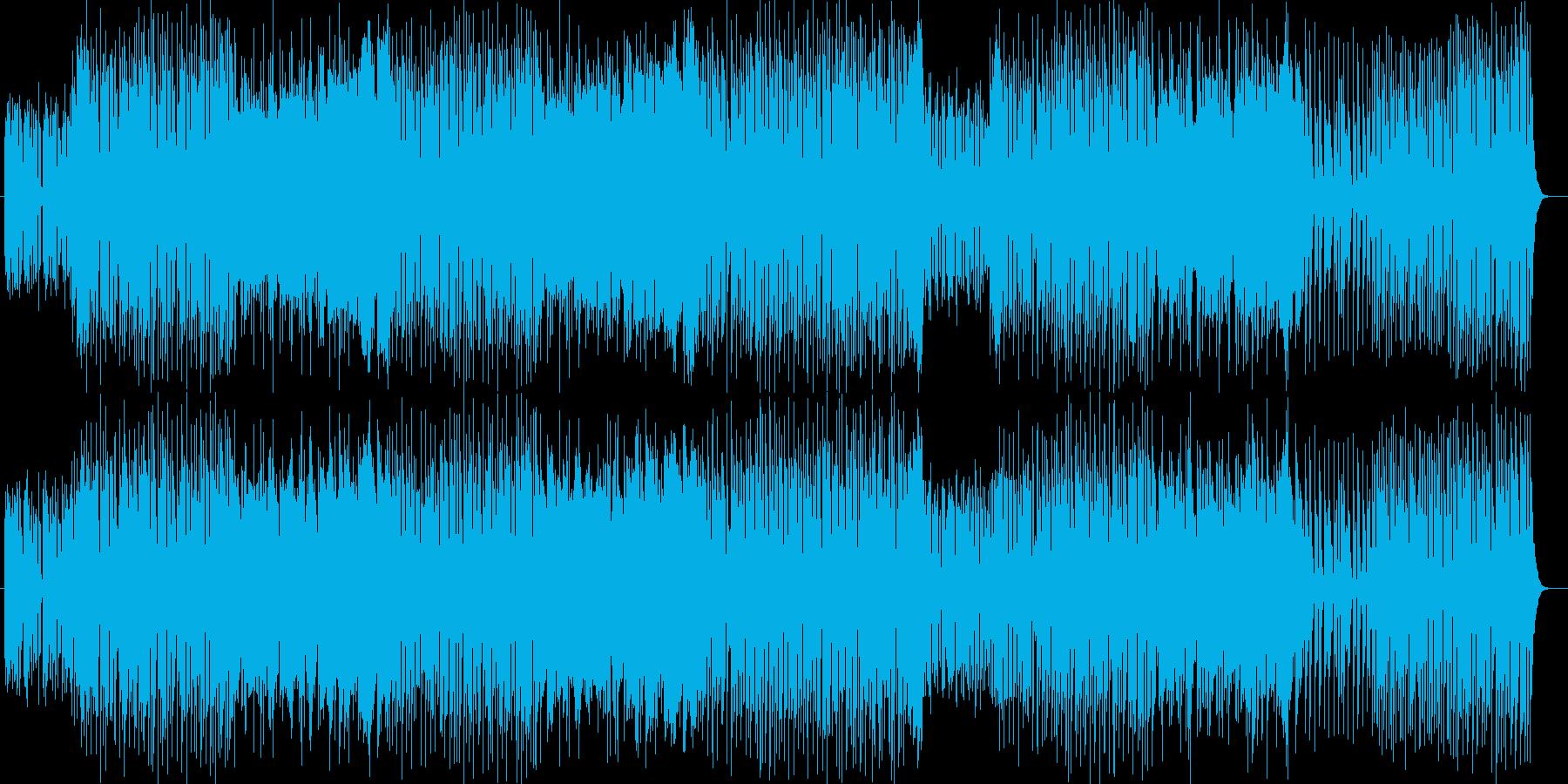 メルヘンなオルガンなどの演奏曲の再生済みの波形
