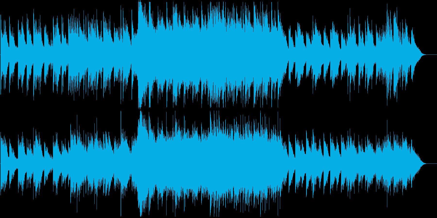 森の中に迷い込んだ幻想的ピアノバラードの再生済みの波形