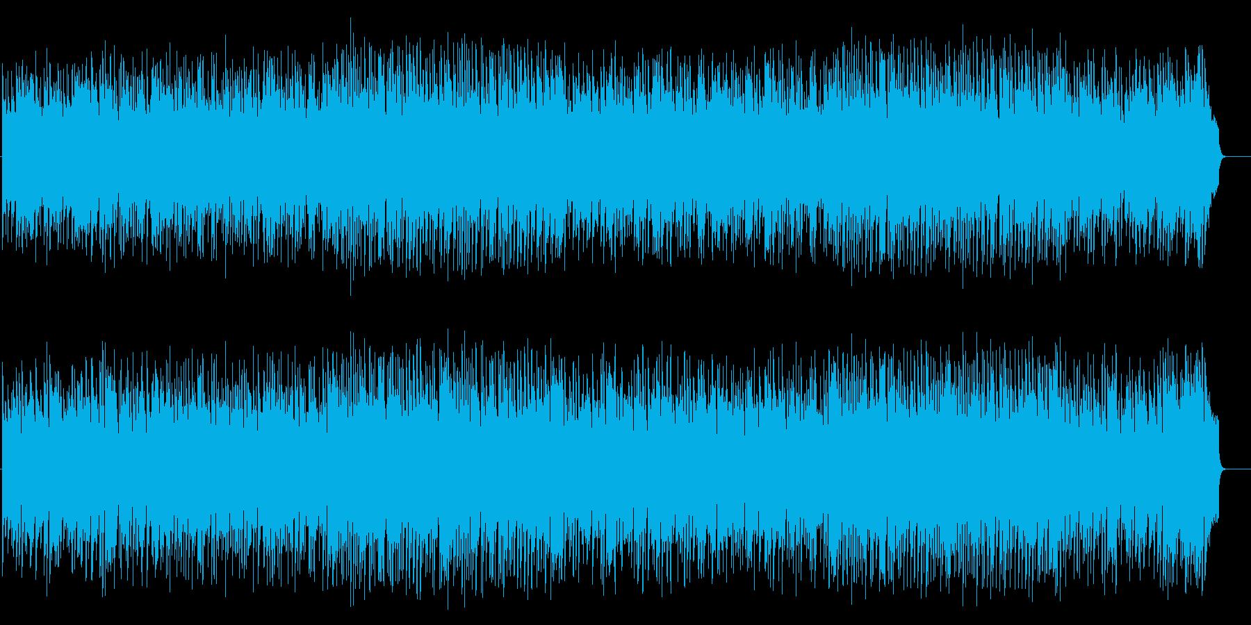 リゾート風ポップバラード(フルサイズ)の再生済みの波形