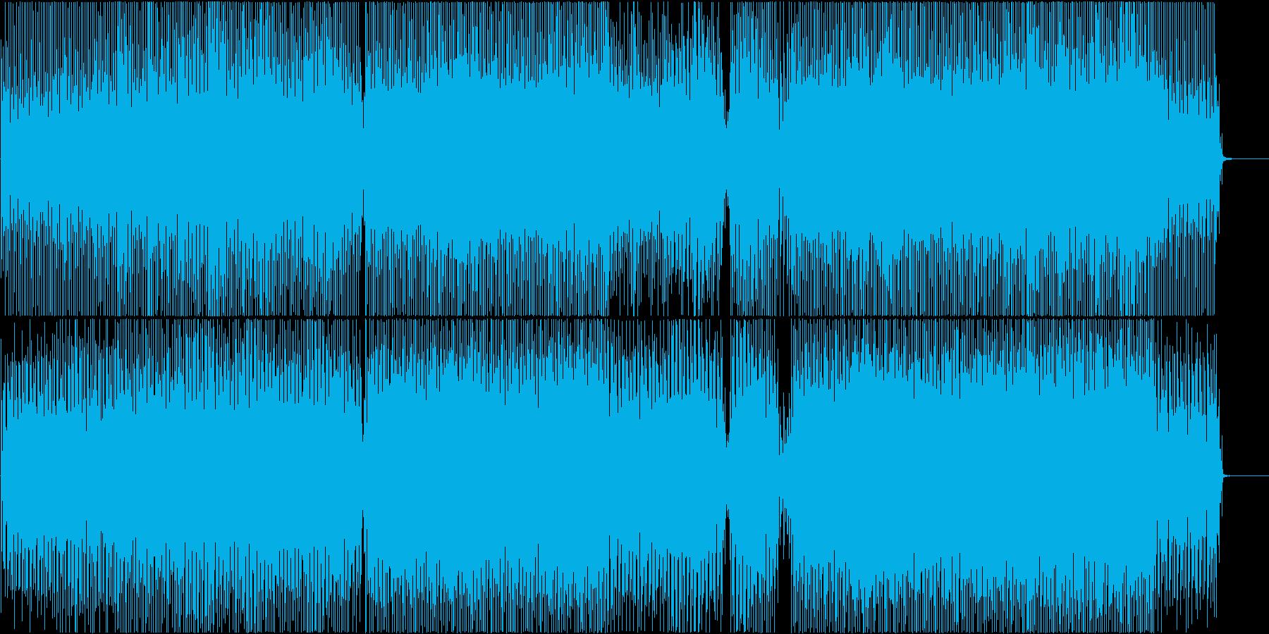 感動登場映像に ピアノでポップ壮大爽やかの再生済みの波形
