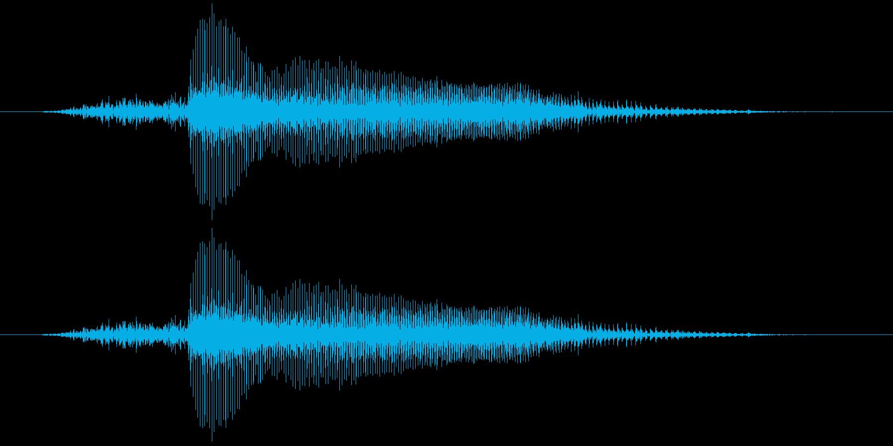 ハーイ!↓(子供)【楽曲内の掛け声風】の再生済みの波形