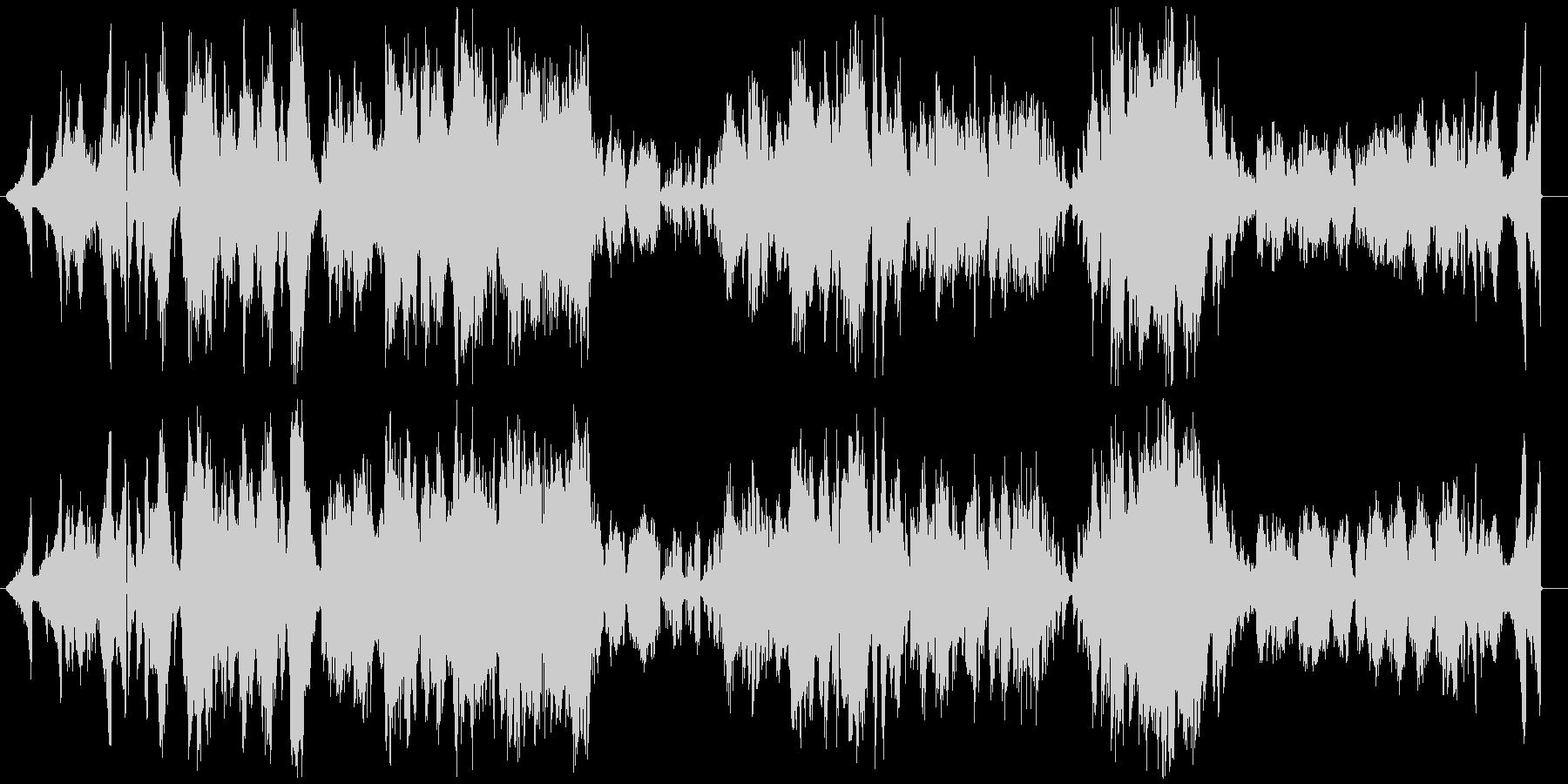 ピアノノイズです。ピアノ楽曲ではありま…の未再生の波形