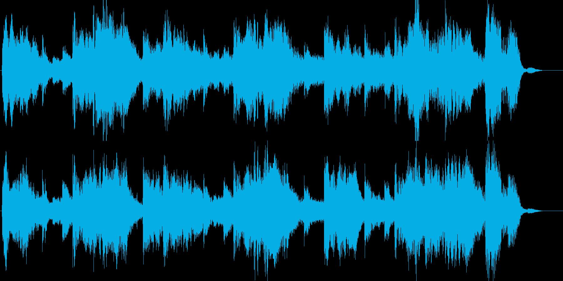 オーケストラクリスマスBGM企業VP恋人の再生済みの波形