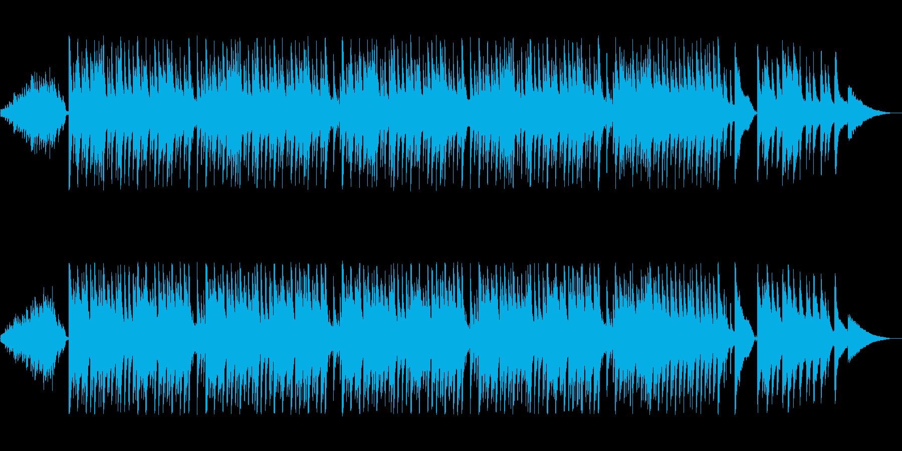 憂鬱で淡々としたジャズ風ポップスの再生済みの波形