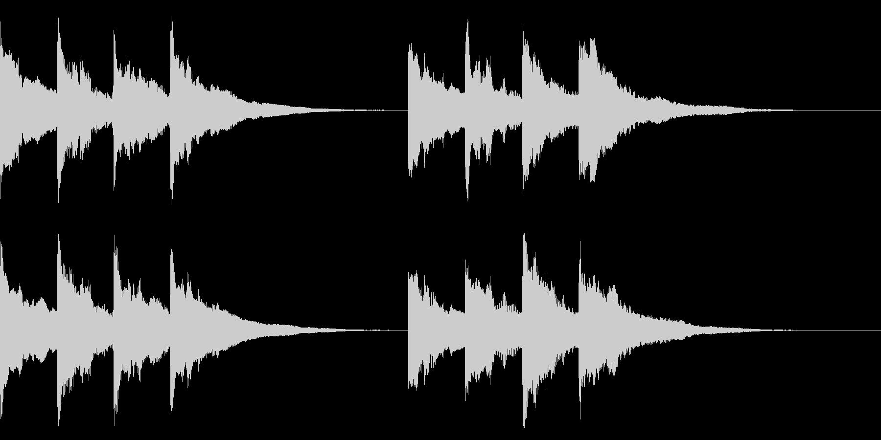 ピンポンパンポン ↑↓ アナウンス 案内の未再生の波形