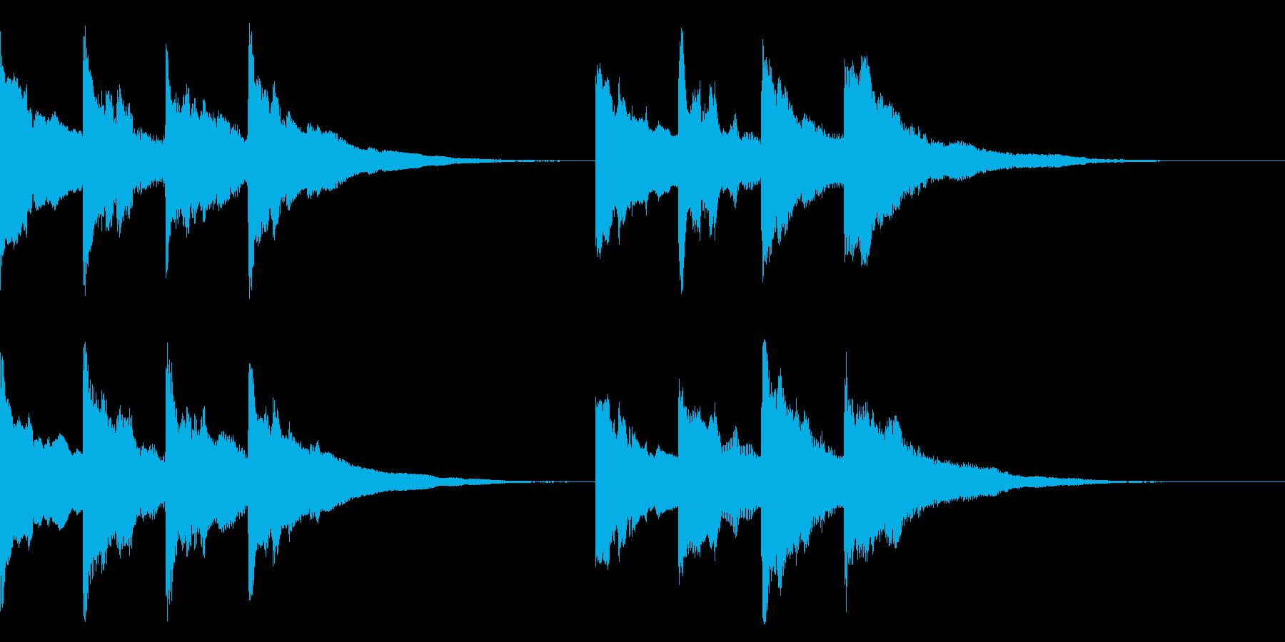 ピンポンパンポン ↑↓ アナウンス 案内の再生済みの波形