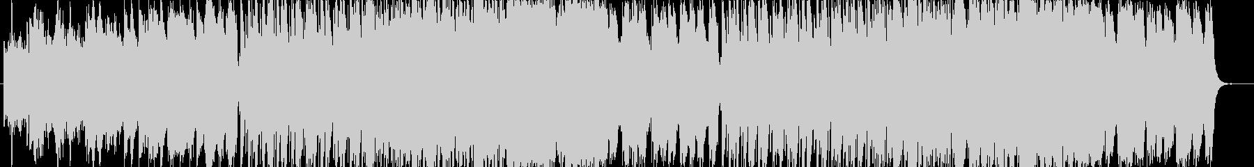 民族音楽と電子音楽の融合 流麗な調べの未再生の波形