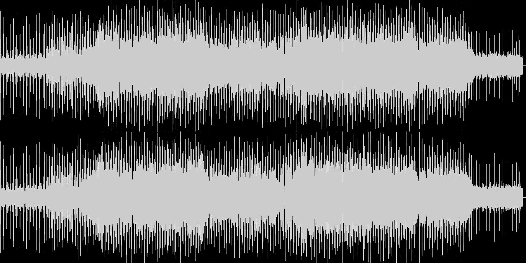 大自然の曲の未再生の波形