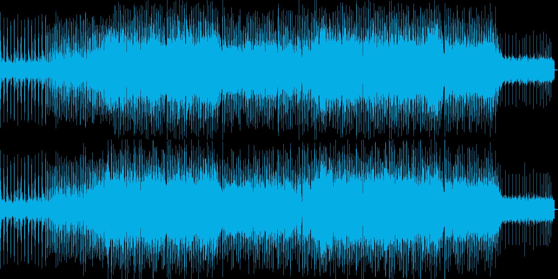 大自然の曲の再生済みの波形