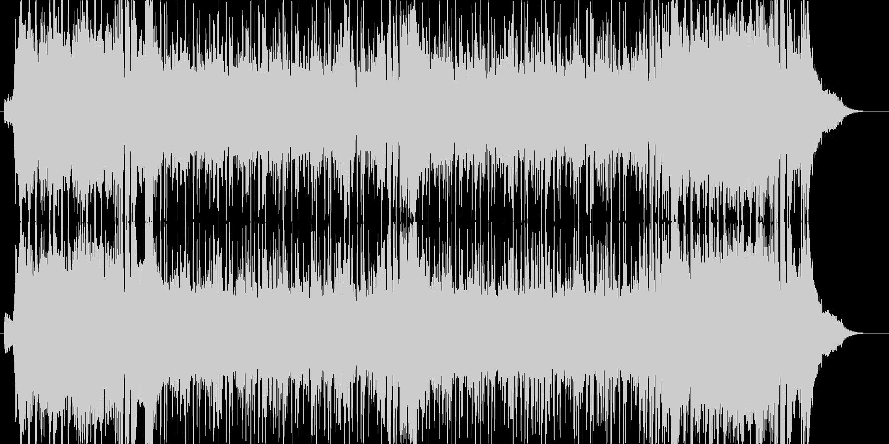 チャラくてチープなパリピィ曲の未再生の波形