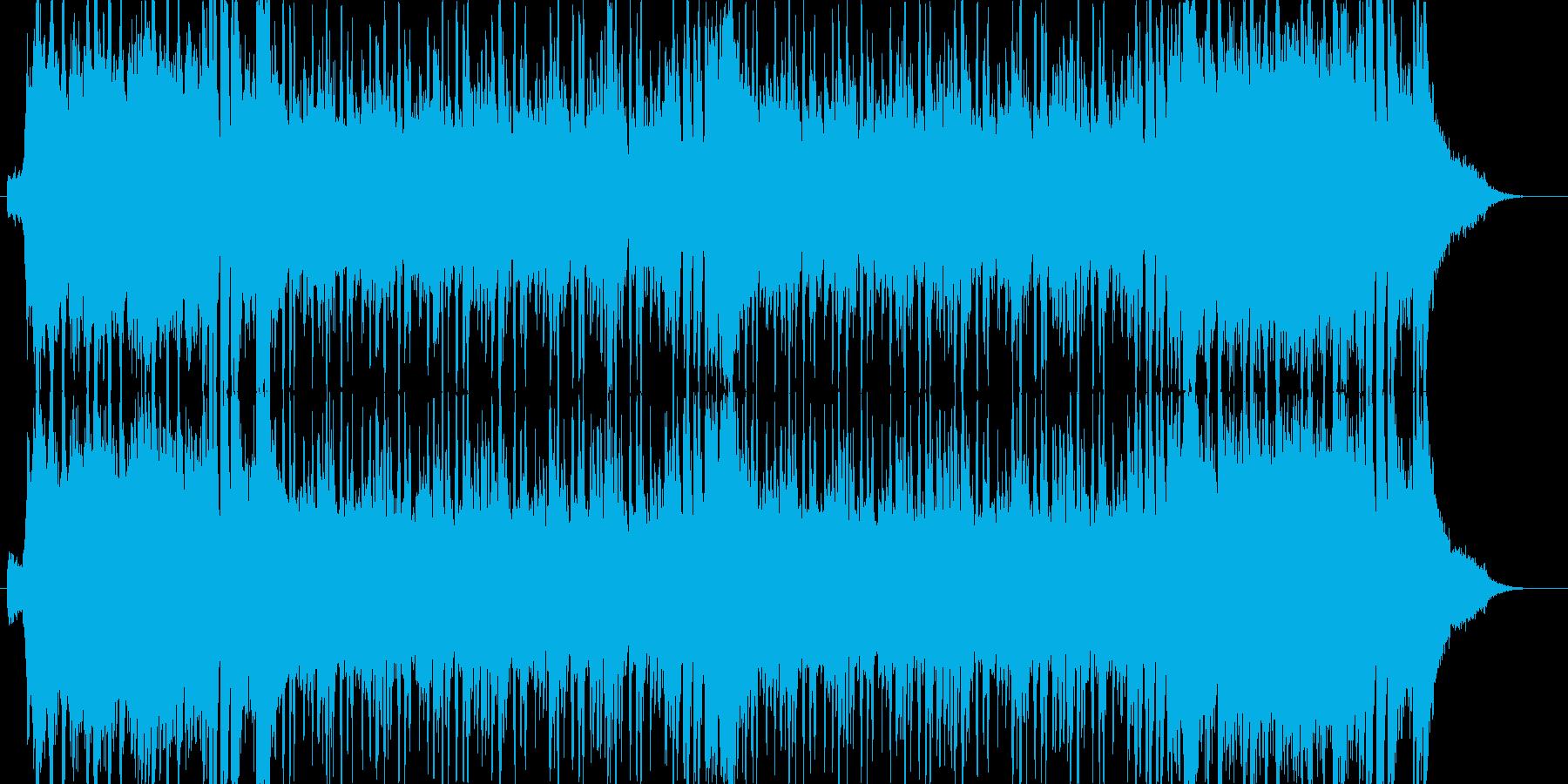 チャラくてチープなパリピィ曲の再生済みの波形