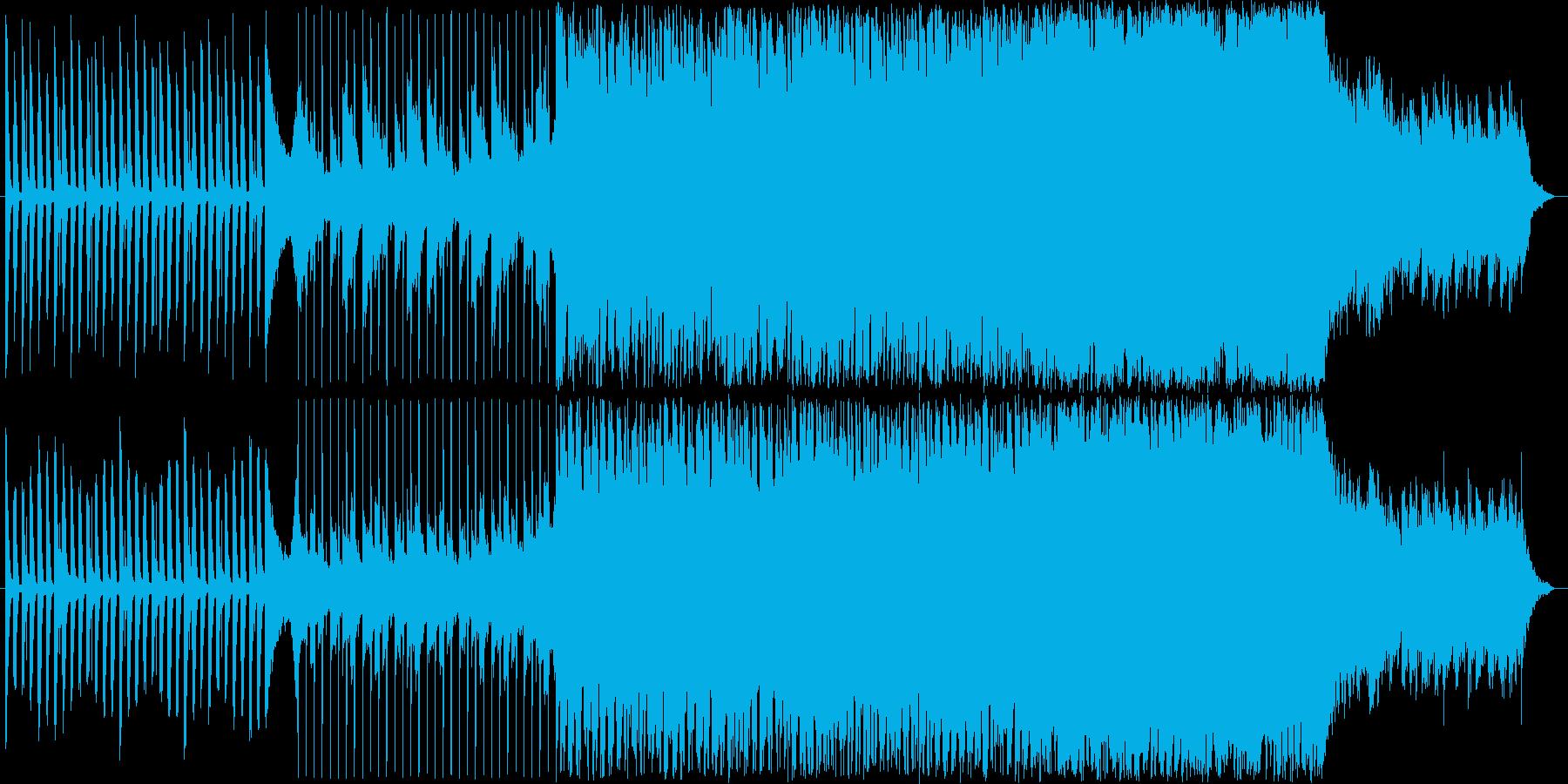 結婚式にも使えるハッピーな曲の再生済みの波形