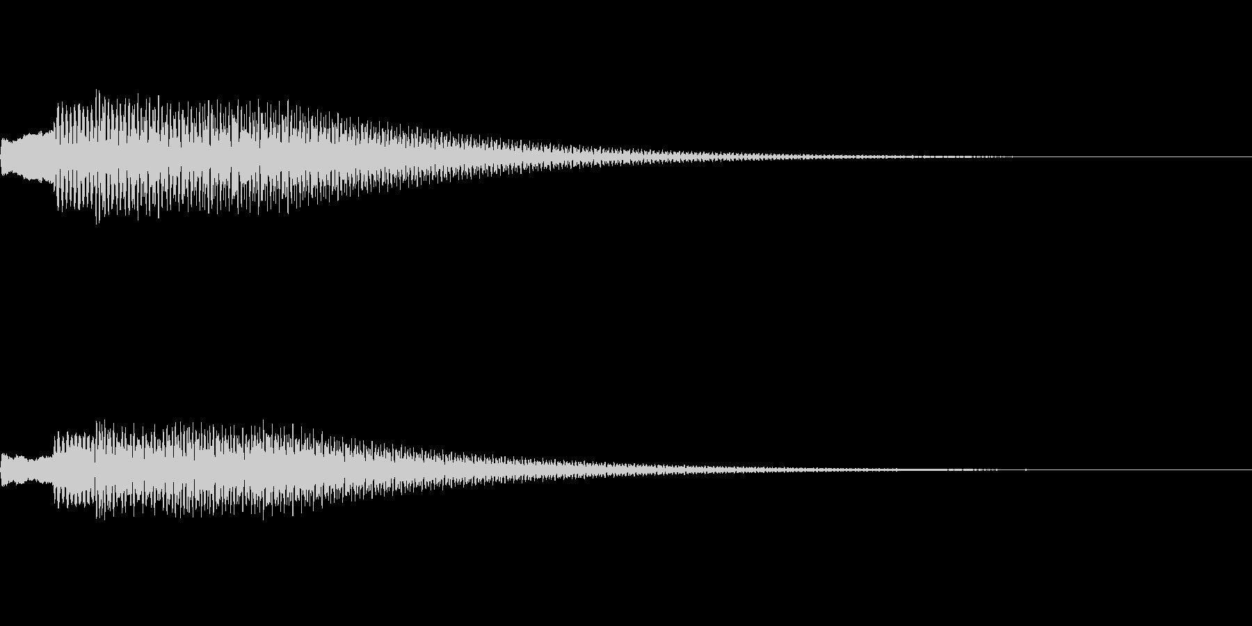 【SE 効果音】不気味な音12の未再生の波形