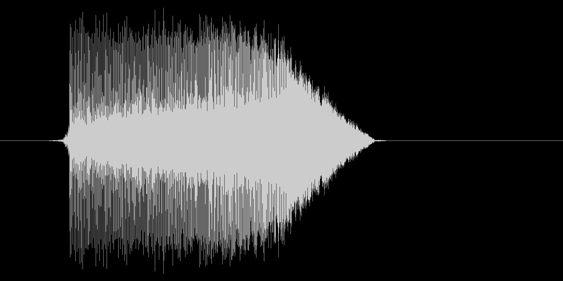 ゲーム(ファミコン風)ジャンプ音_009の未再生の波形