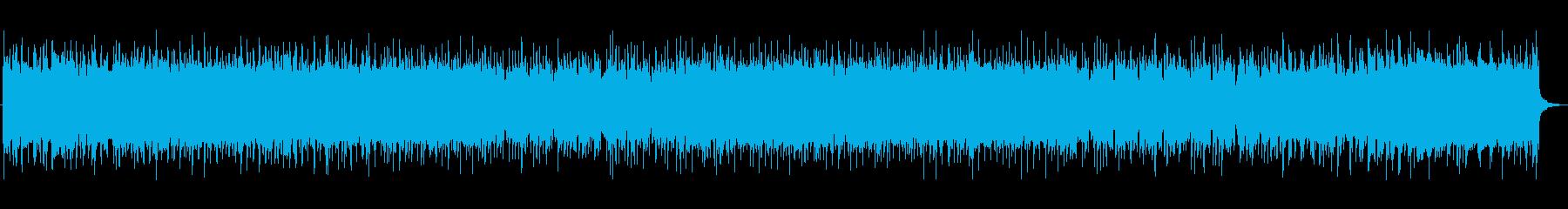 ポップで軽快なシンセBGM 宇宙空間の再生済みの波形